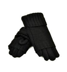 Перчатка Женская стрейч МариFashion F21/17 мод2 black