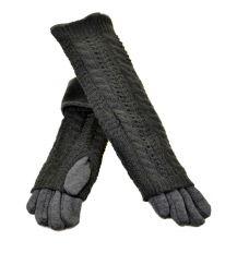 Перчатка Женская стрейч F21/2-17 40см grey