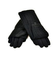 Перчатка Женская стрейч F21/1-17 мод1 black