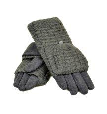 Перчатка Женская стрейч F21/1-17 мод1 grey