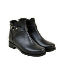 Ботинки кожа 28520 Lacs black