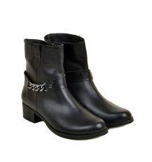 Ботинки кожа 28522 Lacs black