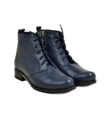 Ботинки кожа 8502 Lacs blue