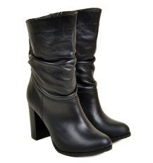Ботинки кожа 29616 Lacs black