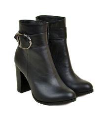 Ботинки кожа 29619 Lacs black