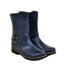 Ботинки кожа 28412 Lacs blue