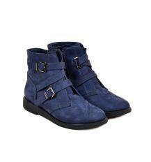 Ботинки нубук 21217 Lacs blue