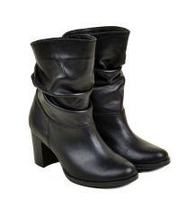 Ботинки кожа 26401 Lacs black