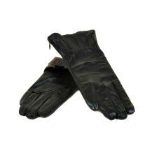 Перчатка Женская кожа МариClassic F24 Шерсть мод-2 black