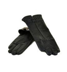 Перчатка Женская кожа МариClassic F24 Шерсть мод-6 black