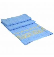 Полотенце Банное махра 70184-1 blue