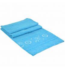 Полотенце Банное махра 70185-1 l-blue