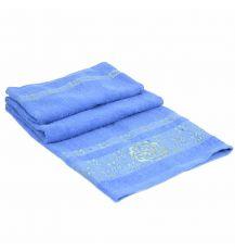 Полотенце Банное махра 70188-1 blue