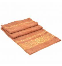 Полотенце Банное махра 70188-1 brown