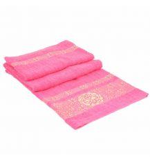 Полотенце Банное махра 70188-1 pink