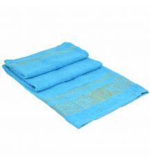 Полотенце Банное махра 70188-1 l-blue