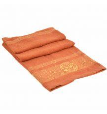 Полотенце Банное махра 70188-1 orange