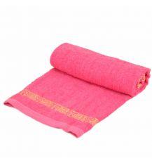 Полотенце Лицевое махра 70188 pink