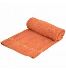 Полотенце Лицевое махра 70188 orange