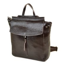 Сумка Женская Рюкзак кожа PODIUM 012-1 3206-9 brown