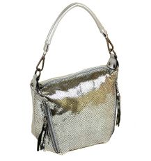 Сумка Женская Классическая кожа ALEX RAI 2-01 312-1 silver