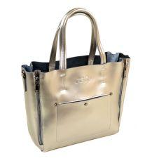 Сумка Женская Классическая кожа ALEX RAI 2-01 8650 silver-grey