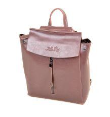 Сумка Женская Рюкзак кожа ALEX RAI 2-01 3206-3 purple