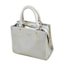 Сумка Женская Классическая иск-кожа ALEX RAI 2-03 88011 silver