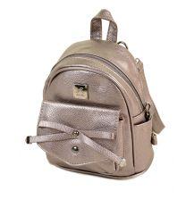 Сумка Женская Рюкзак иск-кожа ALEX RAI 2-05 1701-0 iron-grey
