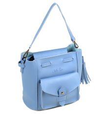 Сумка Женская Классическая иск-кожа ALEX RAI 2-04 0996 blue