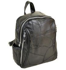 Рюкзак Городской кожа ALEX RAI 1-04 1708-2 black