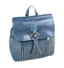 Сумка Женская Рюкзак иск-кожа ALEX RAI 7-01 3357 blue