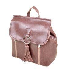 Сумка Женская Рюкзак иск-кожа ALEX RAI 7-01 3357 pink