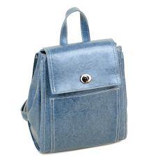Сумка Женская Рюкзак иск-кожа ALEX RAI 7-01 53862 blue