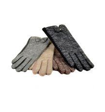 Перчатка Женская Шерсть-Стрейч МариFashion F16-3 ПЛ мод-3 color mix