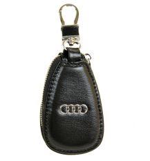 Кошелек Ключница Авто кожа F633 Audi black