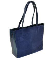 Сумка Женская Классическая кожа-замш ALEX RAI 10-01 8630-1 blue