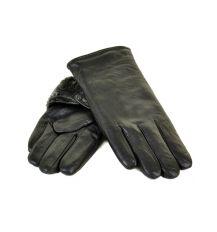 Перчатка Мужская кожа M24-18 мод5 black серый мех