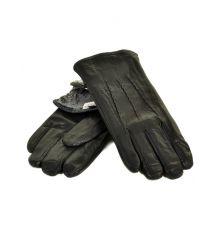 Перчатка Мужская кожа M22/17-1 мод4 black махра