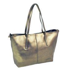 Сумка Женская Классическая кожа ALEX RAI 10-03 8129 perlite-grey-gold