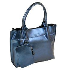 Сумка Женская Классическая кожа ALEX RAI 10-03 8546 blue