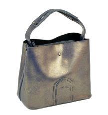 Сумка Женская Классическая кожа ALEX RAI 10-03 8641 grey-gold