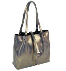Сумка Женская Классическая кожа ALEX RAI 10-03 317 pearlscent-gold