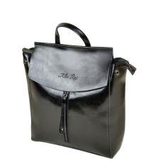 Сумка Женская Рюкзак кожа ALEX RAI 10-04 3206 black