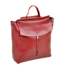 Сумка Женская Рюкзак кожа ALEX RAI 10-04 3206 colored-red