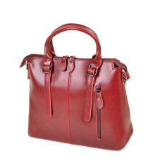 Сумка Женская Классическая кожа ALEX RAI 10-04 330 colored-red