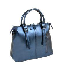 Сумка Женская Классическая кожа ALEX RAI 10-04 330 chromatic-blue