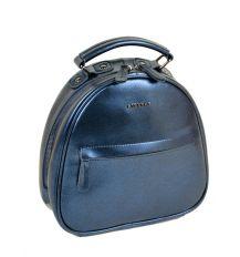 Сумка Женская Рюкзак кожа ALEX RAI 10-04 8715 bright-blue