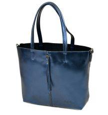 Сумка Женская Классическая кожа ALEX RAI 10-04 8704 blue