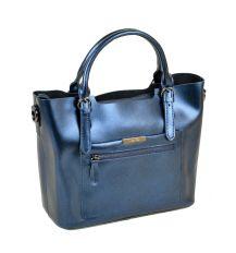 Сумка Женская Классическая кожа ALEX RAI 10-04 8222 chromatic-blue